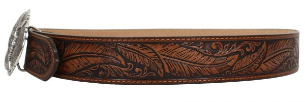 Tony Lama Ol' Chief Western Leather Belt