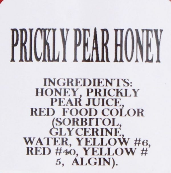 Prickly Pear Honey