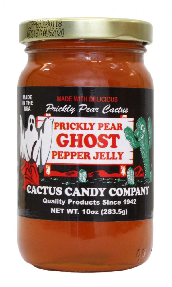 Prickly Pear Ghost Pepper Jelly 10 OZ
