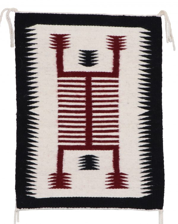 Virginia Yazzie, Navajo Storm Pattern Rug