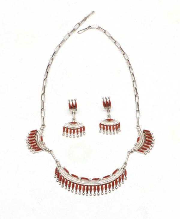 Zuni Earring & Neacklace Set
