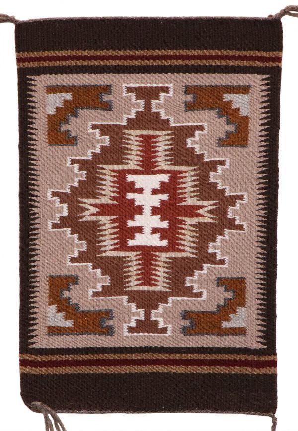 Navajo Handwoven Burntwater Rug