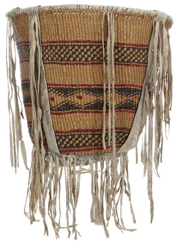 Antique Apache Burden Basket