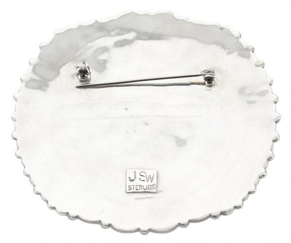 Navajo Handmade Cluster Pin