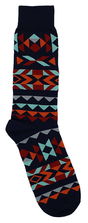 Tribal Geo Socks