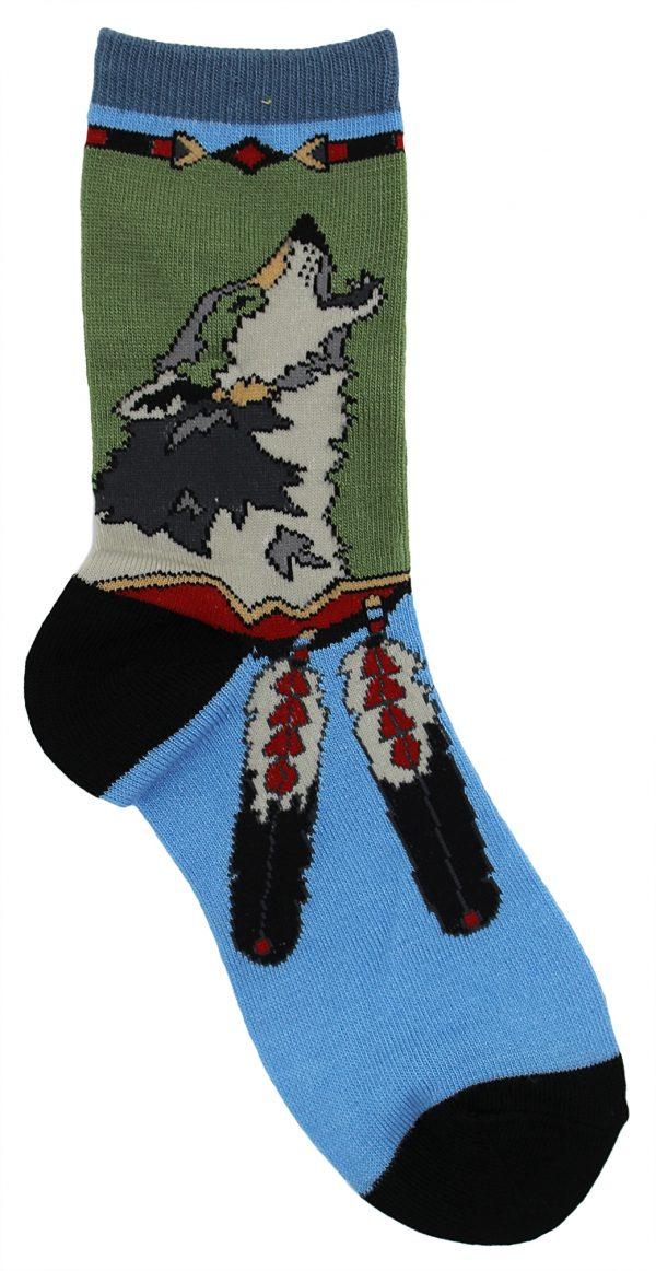 Wolf Tale Socks