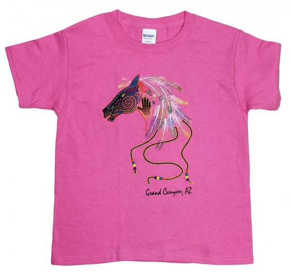 Youth Grand Canyon Feather Horse Head T-shirt