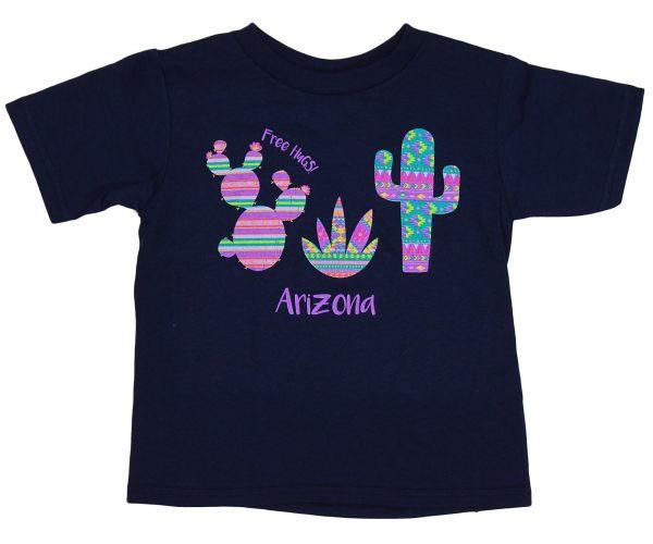 Toddler Arizona Serape Cactus T-shirt