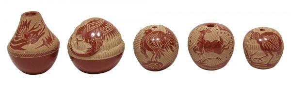 Joseph Lonewolf Miniature Pottery Collection