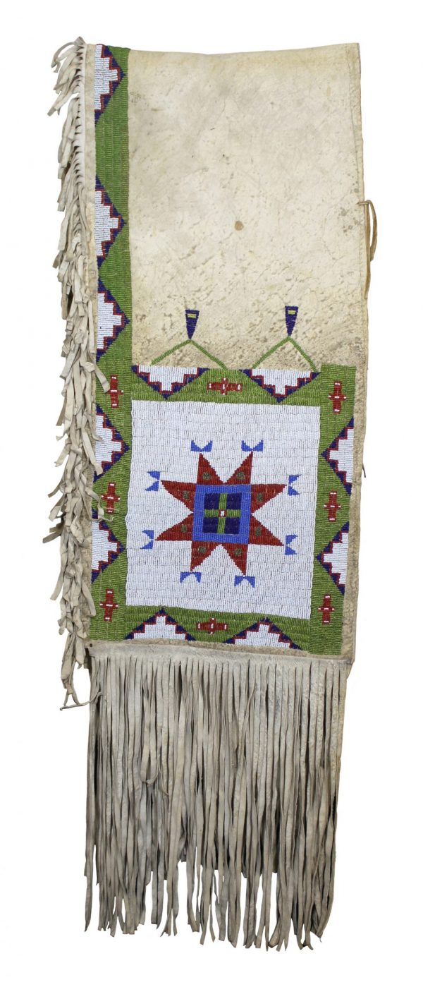 Antique Sioux Beaded Saddle Bags