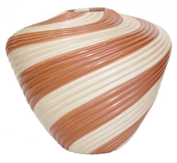 Jemez Handmade Swirl Pot