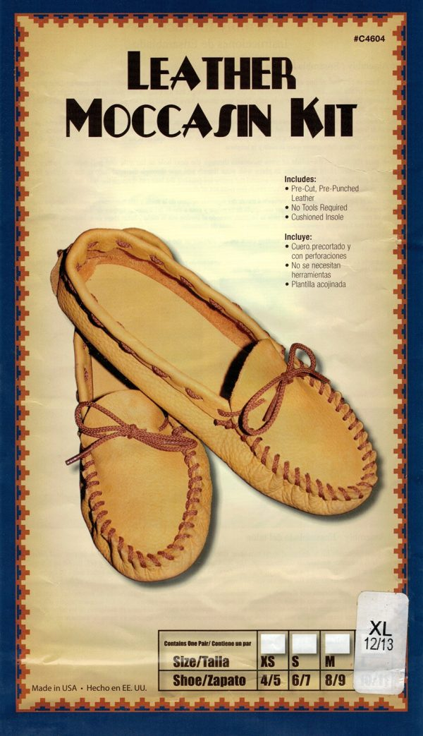 Leather Moccasin Kit