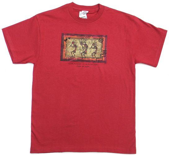 M702- Grand Canyon Matted Kokopelli T-shirt