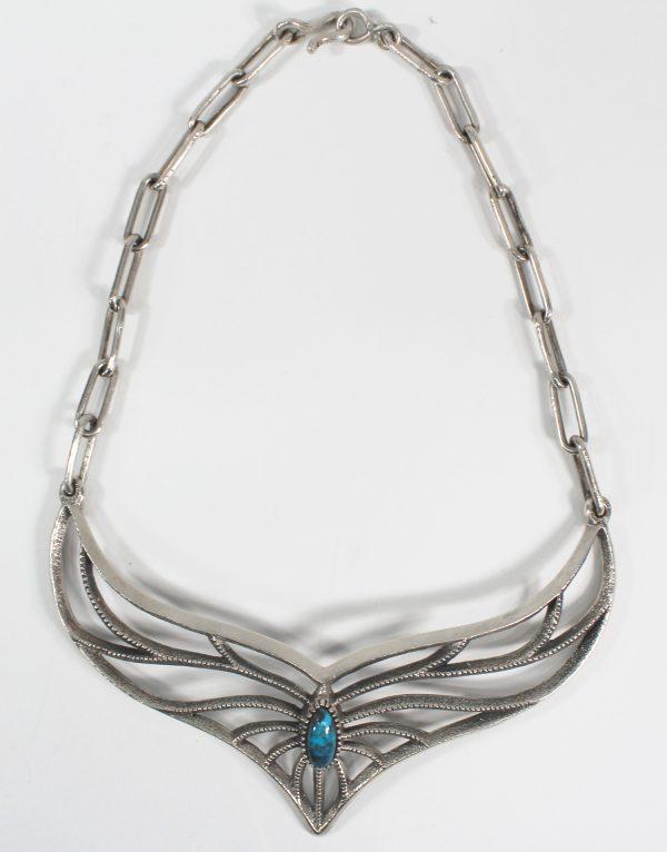 Navajo Handmade Turquoise Necklace