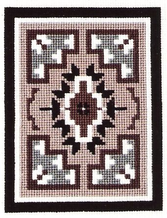 NK-17 - COUNTED CROSS STITCH KIT TWO GREY HILLS III