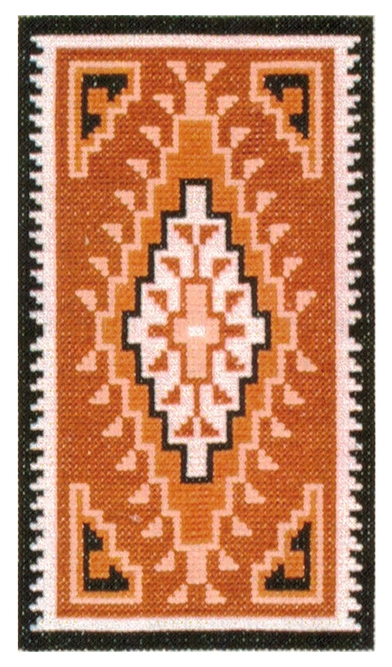 Counted Cross Stitch Kit Burntwater Brown
