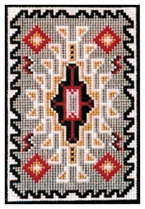 Counted Cross Stitch Kit Navajo Rug Stocking Ornaments Cameron Trading Post,Drawing Diy Phone Case Design Black And White