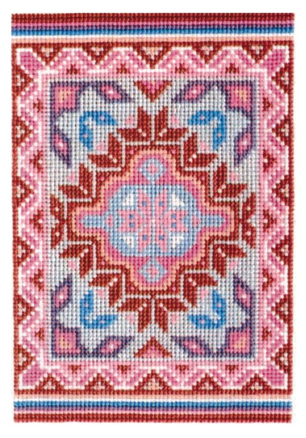 COUNTED CROSS STITCH KIT BURNTWATER II