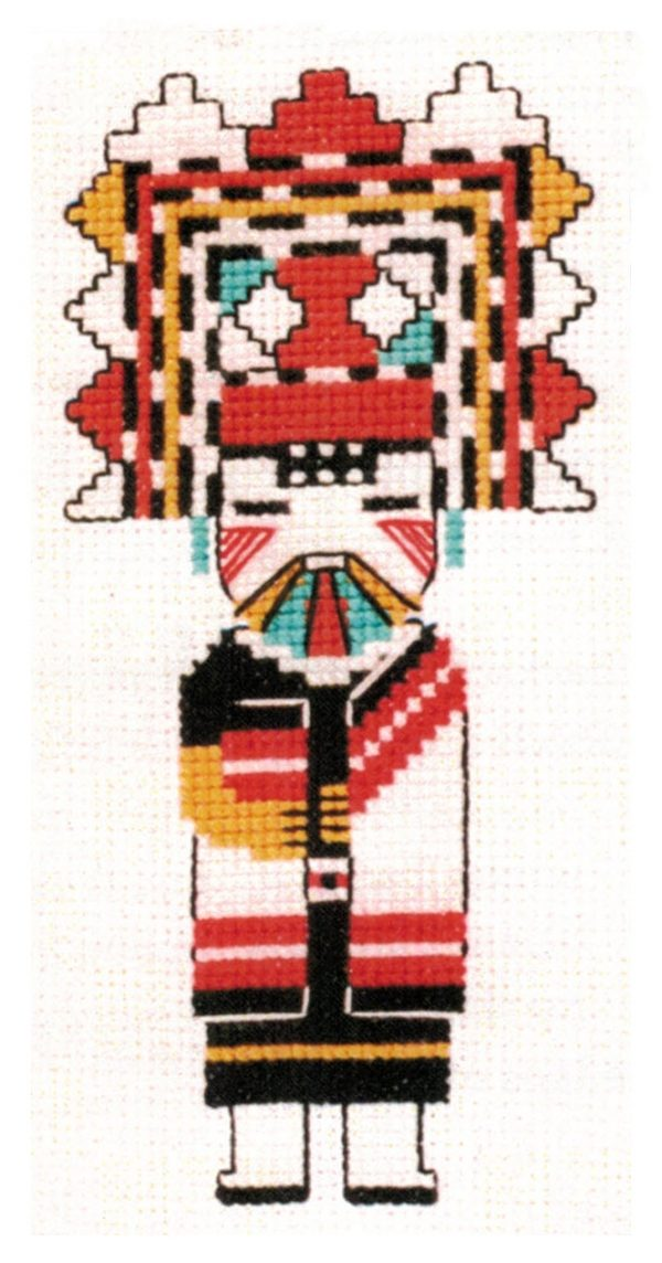 COUNTED CROSS STITCH KIT BUTTERFLY MAIDEN