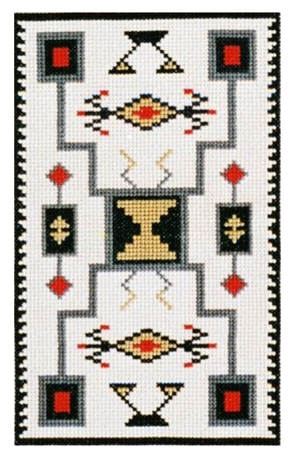 Counted Cross Stitch Kit Storm White