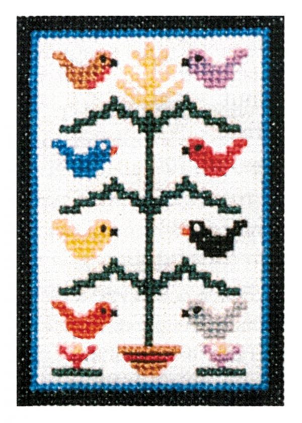 COUNTED CROSS STITCH KIT SMALL TREE OF LIFE