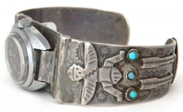 Vintage Navajo Watch Bracelet-OJ320