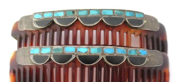 Old Pawn Zuni Hair Combs