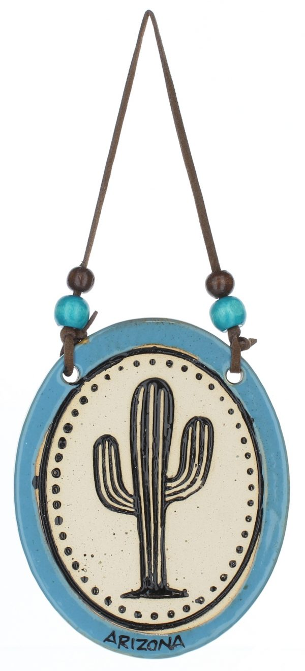 Arizona Pottery Disk Ornament
