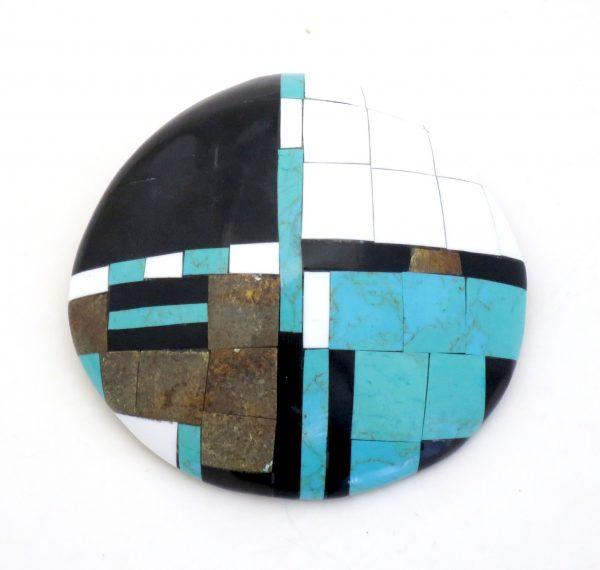 PN816 - Santo Domingo Shell Pendant by Mary C. Lovato