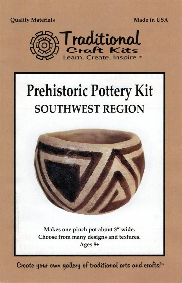 Southwest Region Prehistoric Pottery Kit