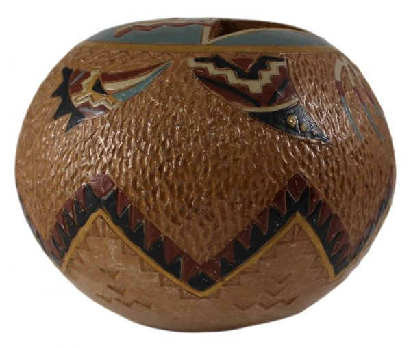 Nancy Chilly Navajo Yei Pot