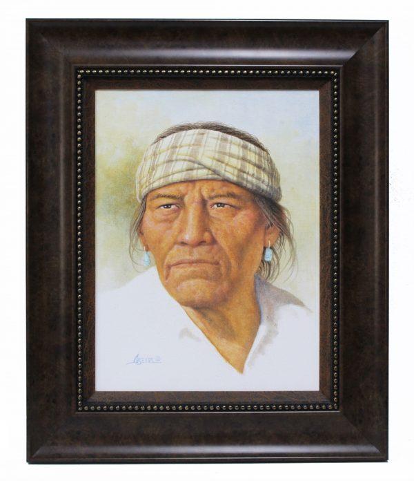 Navajo Painting Jimmy Abeita
