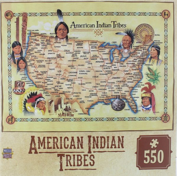 American Indian Tribes Jigsaw Puzzle