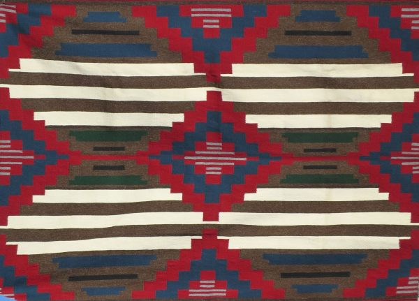 Carrie Tsosie Navajo Handwoven Chief Rug