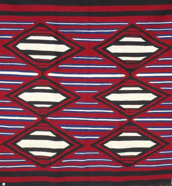 Navajo Handwoven Chief Rug - R15195;929937