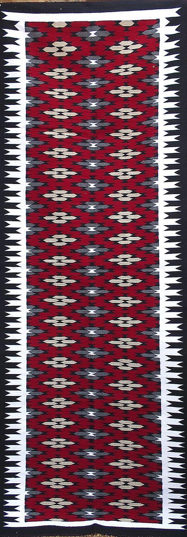 Navajo Handwoven Eyedazzler Rug - R15466 ; 932637