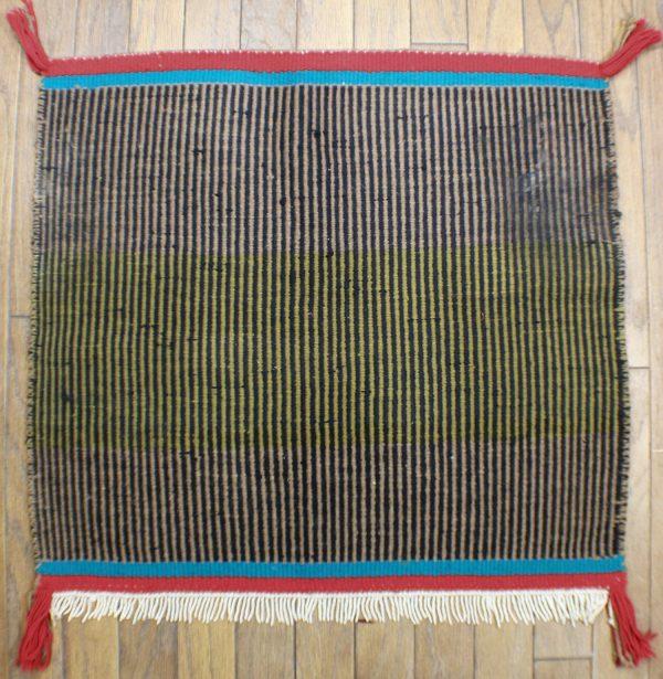 Navajo Handwoven Saddle Blanket Rug - R16357;935470