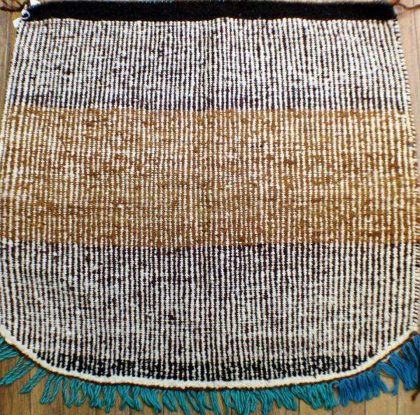 Navajo Handwoven Twill Rug - R16366;935562