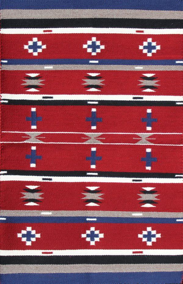 Navajo Handwoven Chief Revival Rug
