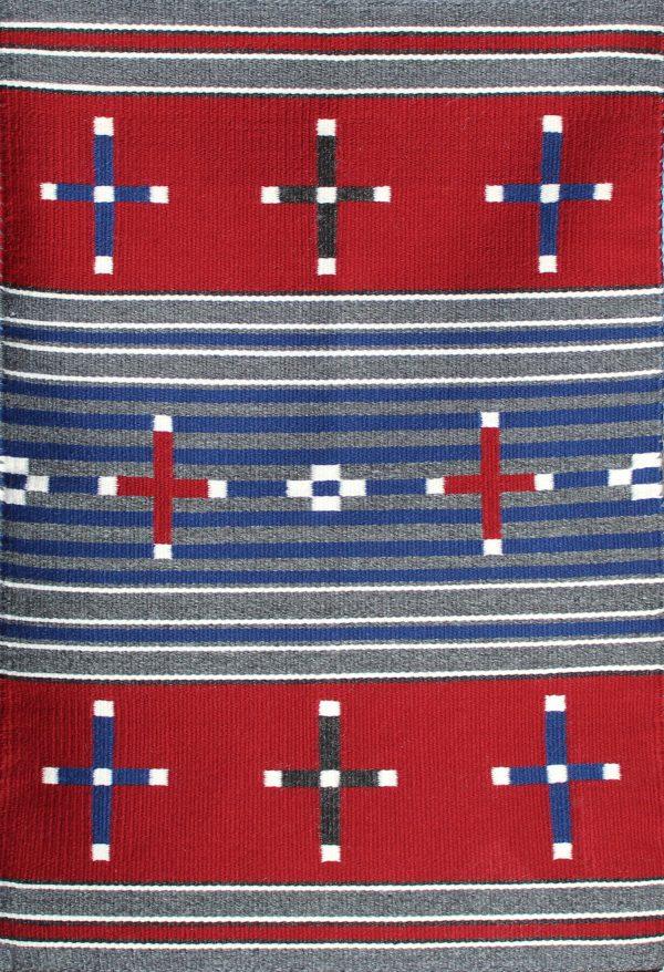 Navajo Handwoven Chief Revival Rug - R17084;937737