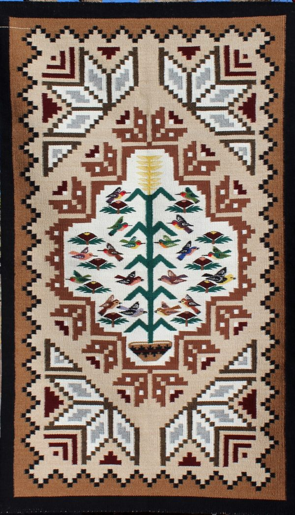 Navajo Handwoven 2 in 1 Rug
