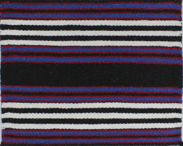 Navajo Handwoven Miniature First Phase Chief