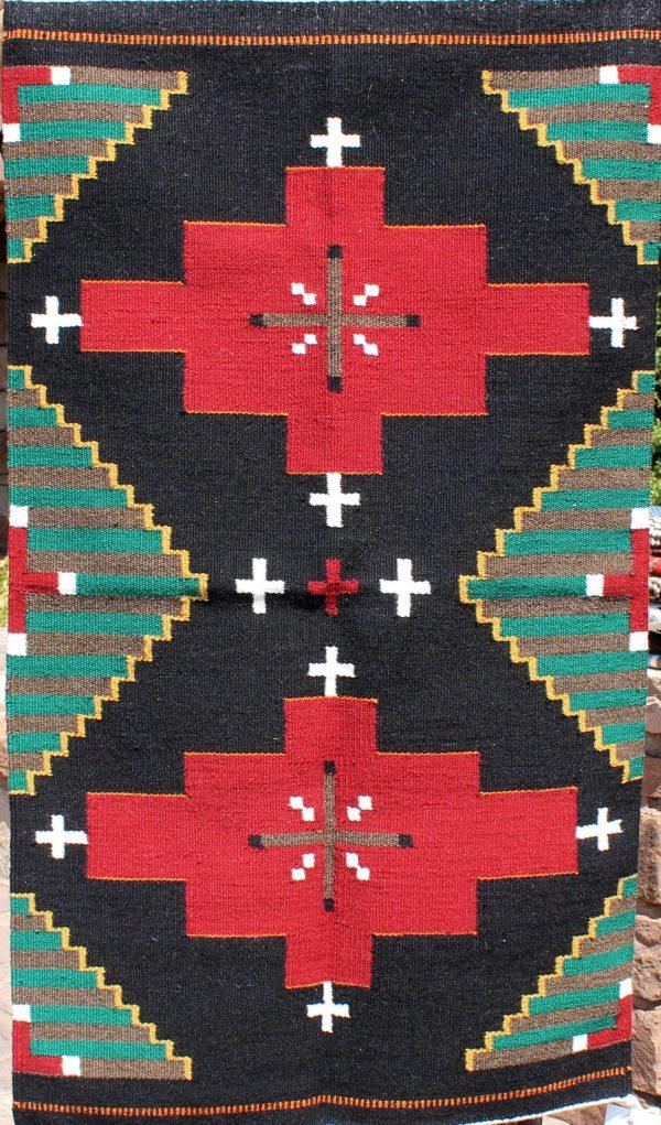Wilbertson Begay Navajo Handwoven Chief Revival Rug