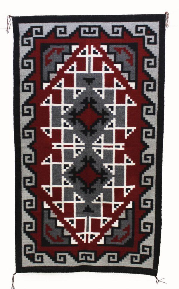 Kathy Nez, Navajo Handwoven Ganado Rug