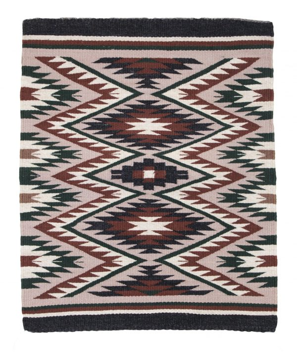 Cecelia Tso, Navajo Handwoven Crystal Rug