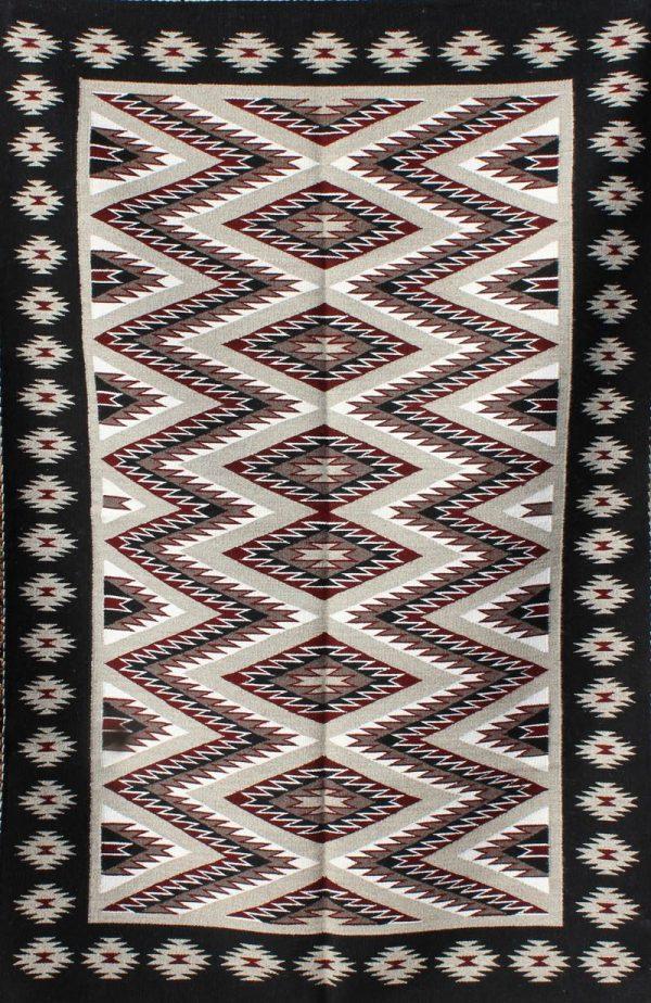 Navajo Handwoven Eyedazzler - R15187;929851
