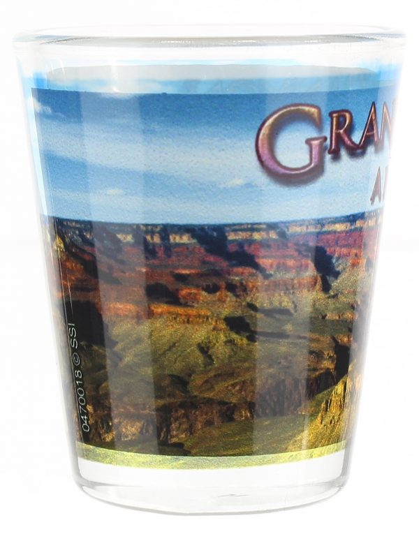 Grand Canyon Day View Shot Glass