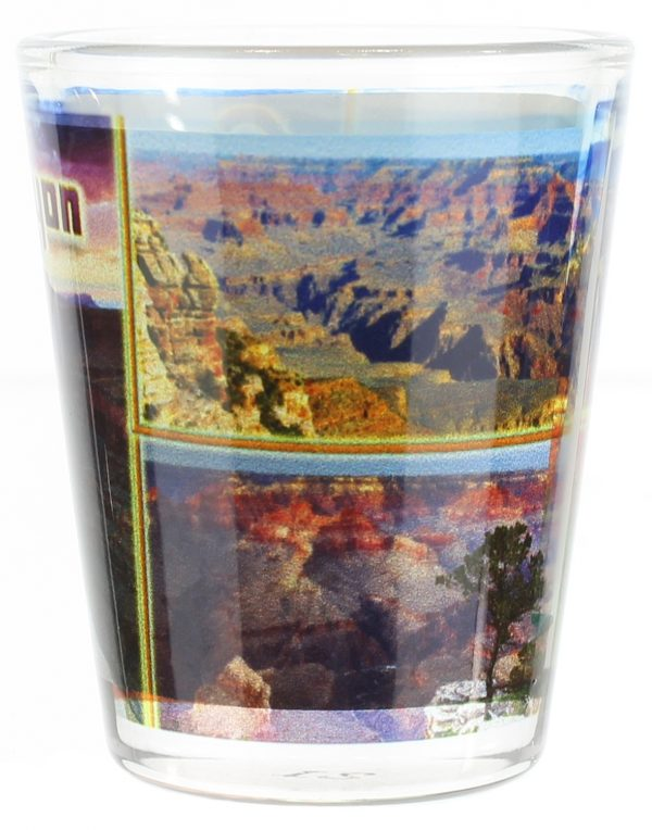 Grand Canyon Collage Shot Glass