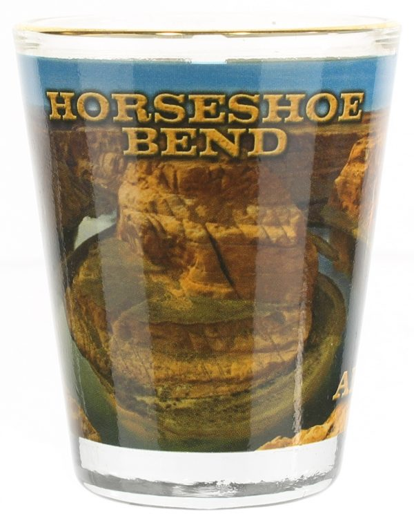 Horseshoe Bend Shot Glass