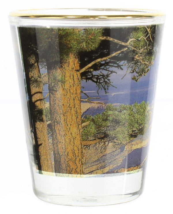 Grand Canyon North Rim Shot Glass